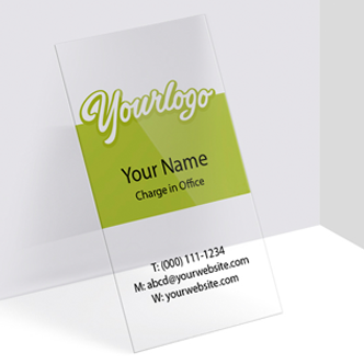 Clear plastic business cards 20pts business cards digital 1 side clear plastic colourmoves